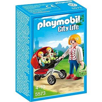 Playmobil 5573 Kočárek pro dvojčata (4008789055736)