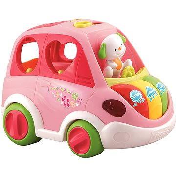 Mluvící Auto Vtech růžové (50803701680)