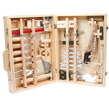 Kufřík dřevěné nářadí Deluxe (4020972022417)