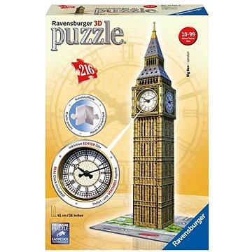 Ravensburger 3D 125869 Big Ben s hodinami (4005556125869)