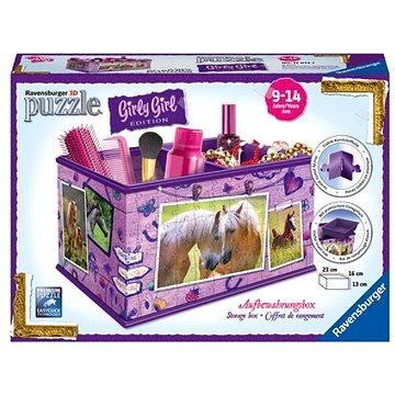 Ravensburger 3D 120727 Úložná krabice Kůň (4005556120727)