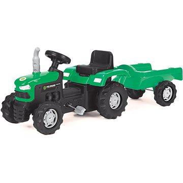 Šlapací traktor s vozíkem (57000765)