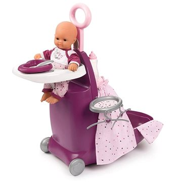 Smoby Baby Nurse Nursery kufřík 3v1 (3032162203460)