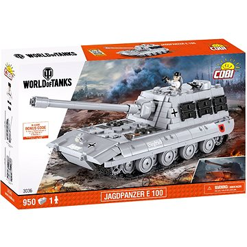 Cobi Jagdpanzer E 100 z World of Tanks (5902251030360)
