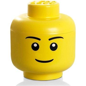 LEGO úložná hlava (velikost L) - chlapec (5711938030216)