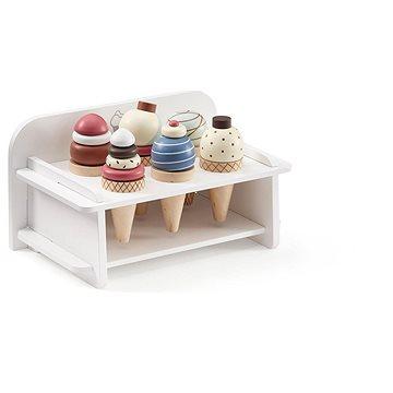 Kids Concept Zmrzlina dřevěná se stojanem Bistro (7340028727743)