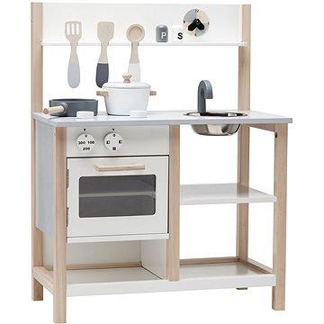 Kuchyňka dřevěná Natural White Bistro (7340028726593)