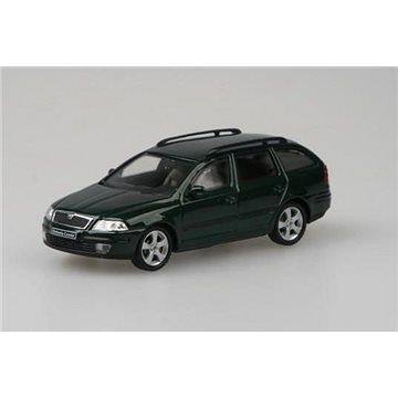 Abrex Škoda Octavia II Combi (2004) 1:43 - Zelená Natur Metalíza (8592420400246)