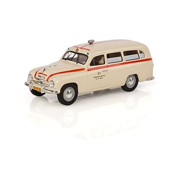 Škoda 1201 (1956) 1:43 - Sanitka - Záchranka (8592420411259)