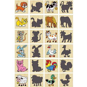 Pexeso zvířátka a jejich stíny (8593547100446)
