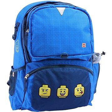 Školní batoh LEGO Faces Blue Freshmen (5711013074838)