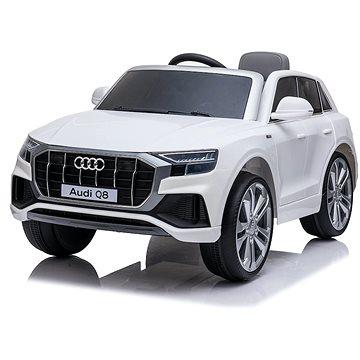 Dětské elektrické auto Audi Q8 bílá (8594176635576)