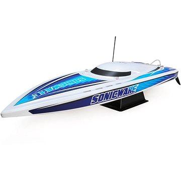 """Proboat Sonicwake 36"""" Self-Right Deep-V BL RTR bílý (0605482188415)"""