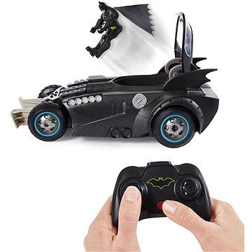 Batman RC Batmobil s figurkou a katapultem (778988294901)