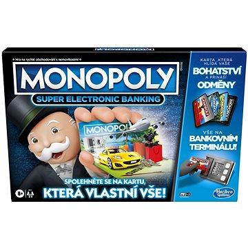 Monopoly Super elektronické bankovnictví (5010993718511)