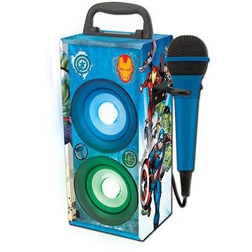 Lexibook Avengers Mini Hifi věž s mikrofonem Bluetooth (3380743082448)