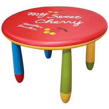Dětský plastový stůl v hravém barevném provedení (809555943387)