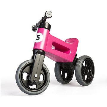 Funny Wheels New Sport 2v1 - růžové (8595557508526)