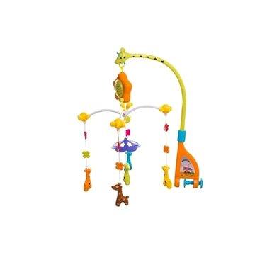 Teddies Kolotoč nad postýlku - žirafy (8592190128999)
