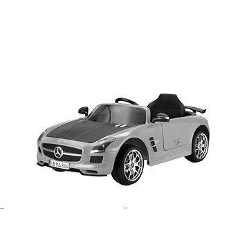 Hecht Autíčko Mercedes Benz SLS AMG - šedé (8595614920605)