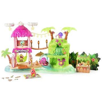 Hatchimals Svítící hrací sada Tropická párty (778988542125)