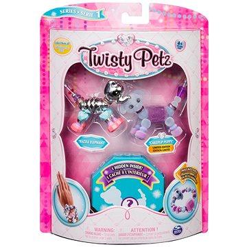 Twisty Petz 3 náramky/zvířátka - Elephant a Puppy (ASRT778988543764a)