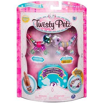 Twisty Petz 3 náramky/zvířátka - Pony a Poodle (ASRT778988543764b)