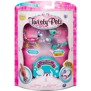 Twisty Petz 3 náramky/zvířátka - Mouse a Roo (ASRT778988543764d)