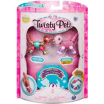 Twisty Petz 3 náramky/zvířátka - Unicorn a Puppy (ASRT778988543764e)