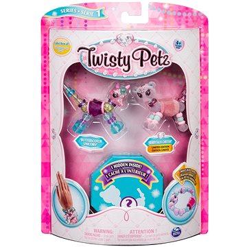 Twisty Petz 3 náramky/zvířátka - Unicorn a Cheetah (ASRT778988543764f)