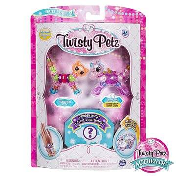 Twisty Petz 3 náramky/zvířátka Kočka a poník (ASRT778988543764)
