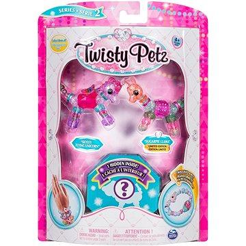 Twisty Petz 3 náramky/zvířátka Skyley Flying Unicorn a Sugarpie Llama (ASRT778988543764)