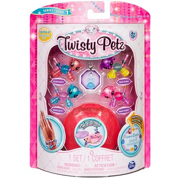 Twisty Petz 4 náramky zvířecích miminek - Kitty a Puppy (ASRT778988544235a)