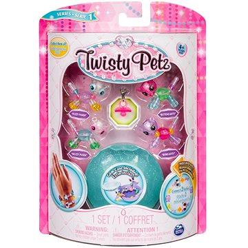 Twisty Petz 4 náramky zvířecích miminek - Panda a Kitty (ASRT778988544235d)