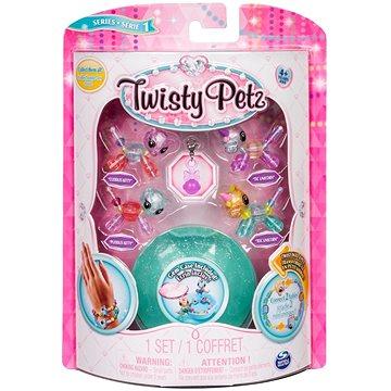 Twisty Petz 4 náramky zvířecích miminek - Kitty a Unicorn (ASRT778988544235e)