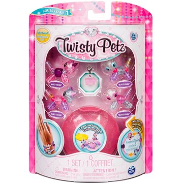Twisty Petz 4 náramky zvířecích miminek - Unicorn a Panda (ASRT778988544235f)