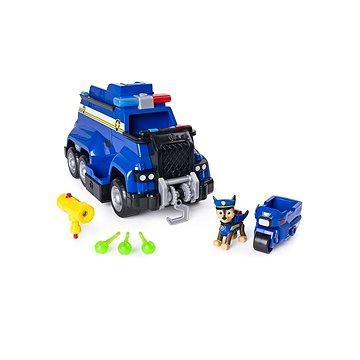 Tlapková patrola Velký policejní vůz s efekty a motorkou (778988560464)