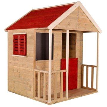 Domček detský drevený Veranda(8590517984051)