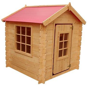 Domček detský drevený Vilemína(8590517983801)