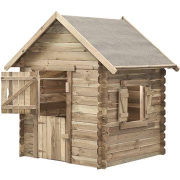 Domček detský drevený Western(8590517983818)