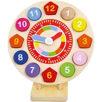 Drevené hodiny vkladacie(4019359840539)