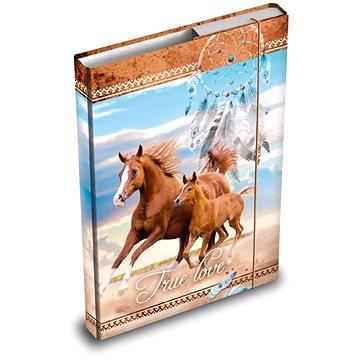 Desky na sešity MFP box A5 Kůň (8595138563975)