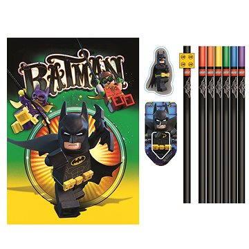 LEGO Batman Movie Papírnický set se zápisníkem (4895028517496)