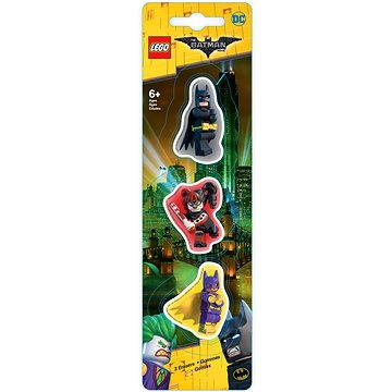 LEGO Batman Movie Mazací gumy Batman/Batgirl/Harley Quinn (4895028517595)