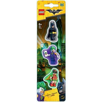 LEGO Batman Movie Mazací gumy Batman/Robin/Joker (4895028517601)