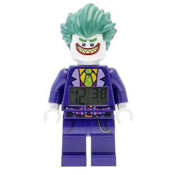 Hodiny do dětského pokoje LEGO Batman Movie Joker hodiny s budíkem (5060286802083)