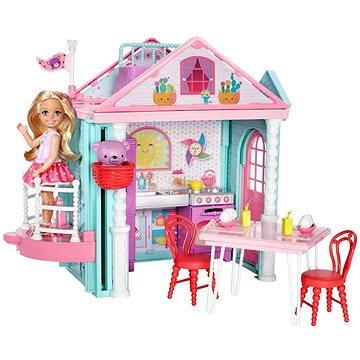 Barbie Chelsea a Domeček (0887961382723)