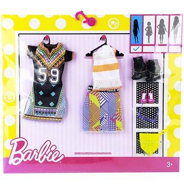 Mattel Barbie Dvoudílný set oblečení - zlaté a modré (ASRT0887961459425)