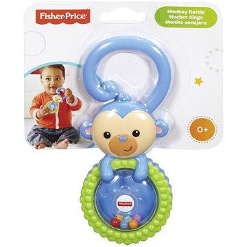 Fisher-Price - Chrastítko opička (0887961071931)