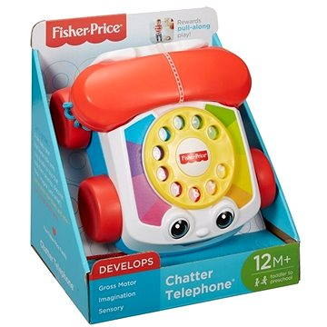 Fisher-Price - Tahací telefon (0887961516449)